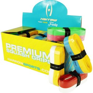 Ersatz Griffbänder 2-farbig für Tennis, Squash oder Badminton Rackets